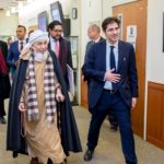 Sh.Bin Bayyah has participated in a conversation at Johns Hopkins University